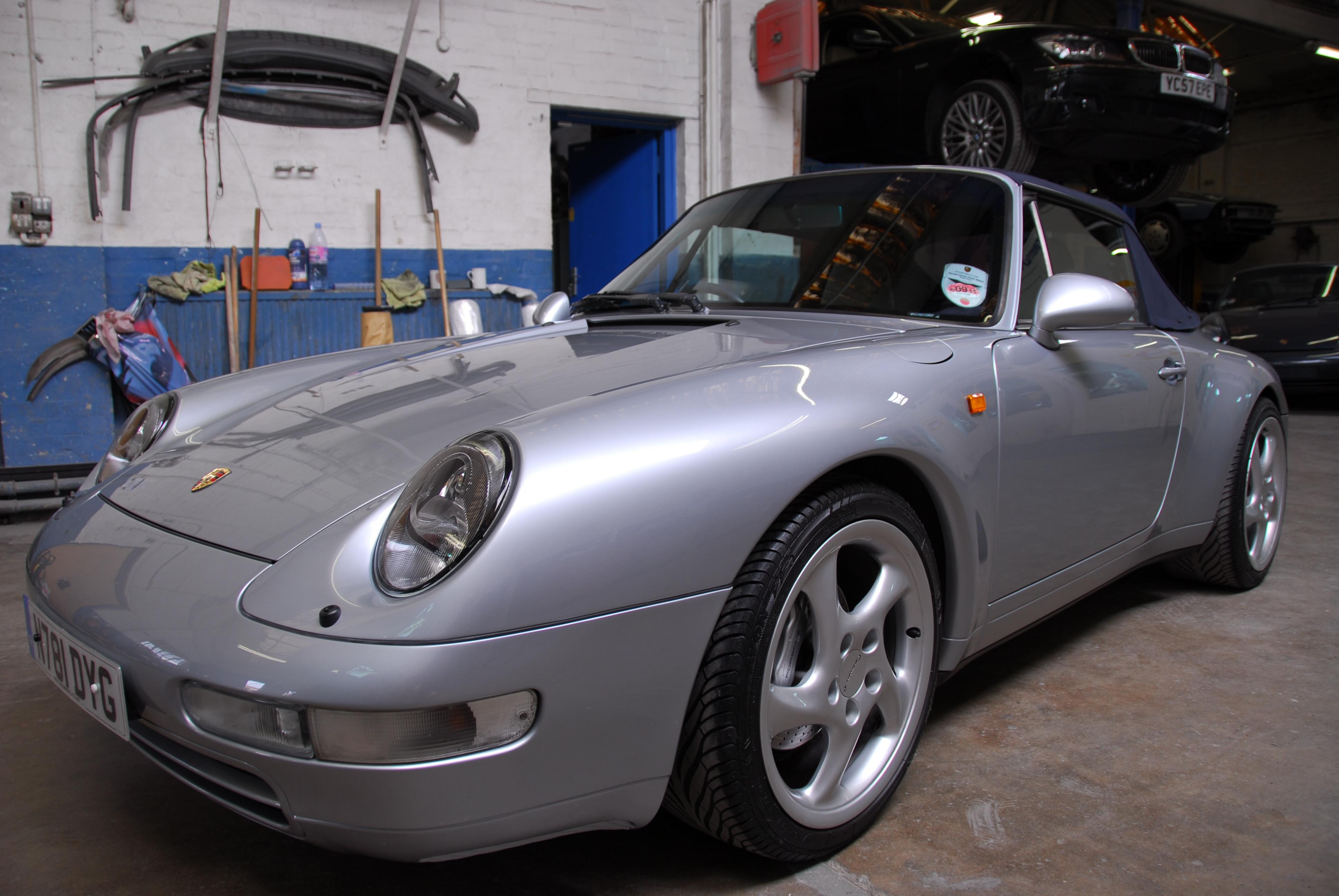 Porsche 993 Cabriolet Repairs Eacoachworks Com