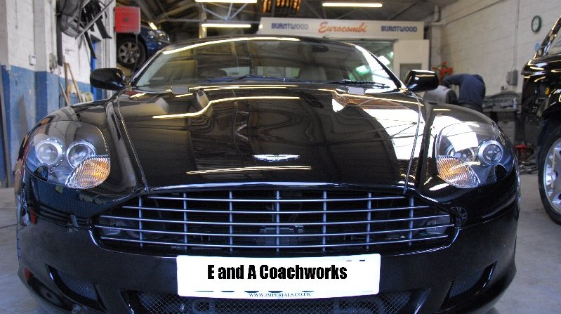 Aston Martin Bodywork Repair